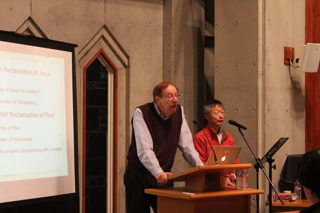 フラー神学校名誉教授ドナルド・ハグナー教授特別講義